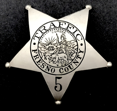 Fresno Traffic badge #5